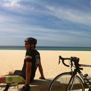 arrábida beach cycling road